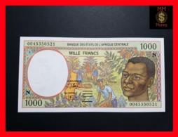 C.A.S CENTRAL AFRICAN STATES EQUATORIAL GUINEA 1.000 1000 Francs 2000  P. 502 N H - États D'Afrique Centrale