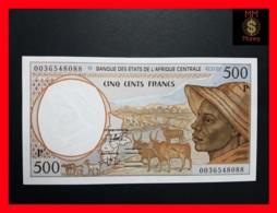 C.A.S CENTRAL AFRICAN STATES CHAD 500 Francs 2000  P. 601  P G - États D'Afrique Centrale