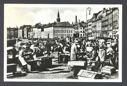 Copenhague. *The Fishmarket* Edit. Alex. Vincent's Nº 530. Nueva - Dinamarca