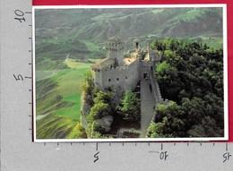 CARTOLINA VG SAN MARINO - La Seconda Torre - 10 X 15 - ANN. 2001 ARTE MONTEFELTRO - CEPT - CUORE - BOTTICELLI - San Marino