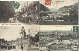 LOT DE 262 CARTES POSTALES ANCIENNES DE L'AIN(01) (LOT N°1). - France
