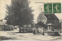 PONTAUBERT  Arbre De La LIBERTE - Other Municipalities