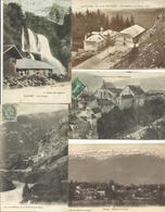 LOT DE 216 CARTES POSTALES ANCIENNES DE L'AIN (01) (LOT N°2). - France
