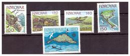 ISOLE FÆR ØER - 1978 - VEDUTE DELL'ISOLA DI MYKINES . SERIE COMPLETA. - MNH** - Isole Faroer