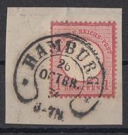 DR Briefstück Minr.19 Hufeisenstempel Hamburg 26.10.74 - Deutschland