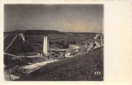 Zerstörte Brücke - War 1914-18