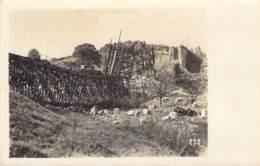 Zerstörte Eisenbahnbrücke - Oorlog 1914-18