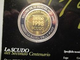 Suisse: 1 Scudo Monnaie Temporaire Tessin 1998 Avec Dépliant Explicatif - Monétaires / De Nécessité