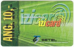 CURACAO A-014 Prepaid Setel - Used - Antilles (Netherlands)