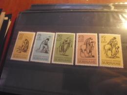 SURINAM TIMBRE OU SERIE YVERT N° 452.456** - Surinam ... - 1975