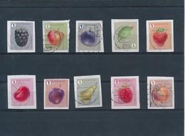 Fruit 2018, De 10 Zegels Op Fragment - Belgique