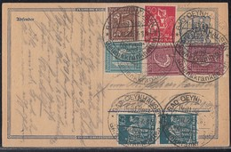 DR GS Zfr. Minr.2x 158,160,161,166,2x 170 SST Bad Oeynhausen 27.11.22 Geprüft - Briefe U. Dokumente