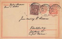 DR GS Zfr. Minr.161 KOS Malliss (Mecklb.)21.7.22 - Briefe U. Dokumente