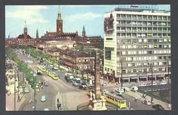 Copenhague. *View Over Vesterbro Passage* Edit. Rudolf Olsen Nº 650. Escrita. - Dinamarca
