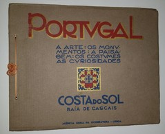 CASCAIS -  - MONOGRAFIAS - «Costa Do Sol - Baía De Cascais» ( Ed.Agencia Geral Da Ocogravura ) - Livres, BD, Revues