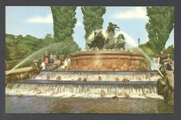 Copenhague. *The Gefion Fountains* Edit. Rudolf Olsen Nº 41. Nueva. - Dinamarca