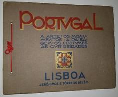 LISBOA - MONOGRAFIAS - « Jerónimos E Torre De Belém» ( Ed.Portucalense Editora ) - Livres, BD, Revues