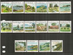 Sites , Paysages & Monuments  De L'île NORFOLK (Océan Pacifique).  16 Timbres Neufs ** Côte  45,00 € EUR - Ile Norfolk