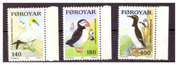 ISOLE FÆR ØER - 1978 - UCCELLI DELLE ISOLE FÆR ØER . SECONDA SERIE. SERIE COMPLETA. - MNH** - Isole Faroer