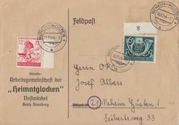 DR R-Brief Mif Minr.904,906 Neheim-Hüsten 22.11.44 - Briefe U. Dokumente