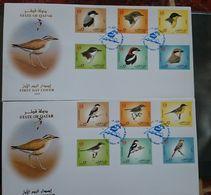 QATAR 2009 BIRDS FDCs - Qatar