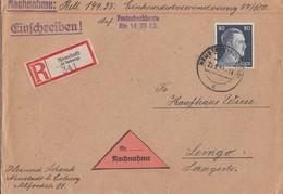 DR R-NN-Brief EF Minr.798 Neustadt (b. Coburg) 22.5.44 - Deutschland