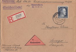 DR R-NN-Brief EF Minr.798 Neustadt (b. Coburg) 22.5.44 - Briefe U. Dokumente