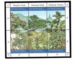 St Helena 690 MNH 1997 National Park Souvenir Sheet - Sainte-Hélène