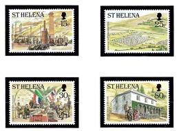 St Helena 751-54 MNH 2000 Boer War Centgennial - Sainte-Hélène