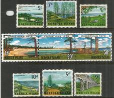 Vues Et Paysages De L'île NORFOLK.  Deux Séries Complètes Neuves ** - Ile Norfolk