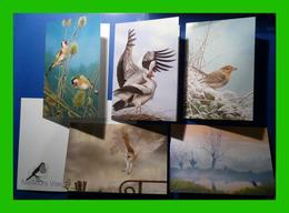 BUZIN - Cartes De Voeux 2015 - Ligue De Protection Des Oiseaux - 1985-.. Birds (Buzin)