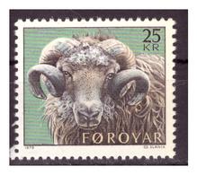 ISOLE FÆR ØER - 1979 - TESTA DI MONTONE. - MNH** - Isole Faroer