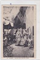 ALGER. MARCHE DANS UNE RUE ARABE. PHOTO ALBERT. CIRCA 1910s- BLEUP - Algerije