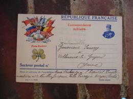 Troyes Hopital Temporaire 4 Cachet Franchise Postale  Guerre 14.18 - Marcophilie (Lettres)