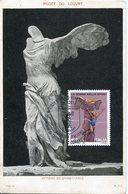 39634 Italia, Maximum 2013,sculpture Of The Victory Of Samothrace,greek Sculpture,, Vintage Card - Maximumkaarten