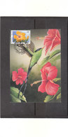 2589 Fleur Buzin - Rose De Chine - 1985-.. Vögel (Buzin)