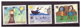 ISOLE FÆR ØER - 1979 - ANNO INTERNAZIONALE DEL FANCIULLO. SERIE COMPLETA. - MNH** - Isole Faroer