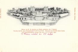 Ville De Béziers, Théâtre Des Arènes: Parysatis - Représentations Les 17 Et 19 Août 1902 - Carte Précurseur Non Circulée - Opera