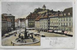 AK 0070  Graz - Hauptplatz / Verlag Stengel & Co Um 1903 - Graz
