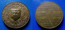 RARE MEDAILLE JEANNE D'ARC 1898 - Bourdon De La Cathédrale D Orléans - Bourdon Jeanne D Arc - Baptême Des Cloches 1898 - Royal / Of Nobility