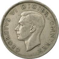 Monnaie, Grande-Bretagne, George VI, 1/2 Crown, 1949, TB+, Copper-nickel, KM:879 - 1902-1971 : Monnaies Post-Victoriennes