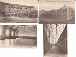 02 - Lot De 4 Cartes Postales De L' école Supérieure De Filles D' HIRSON. Lire Ci-dessous - Hirson