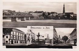 AK Braunau Am Inn - Mehrbildkarte - Ca. 1940 (37461) - Braunau