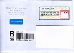 Czech  Republic To Moldova , 2018 ,  Used Recomanded Cover - Czech Republic