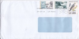 France To Moldova  , 2018, Birds , Personalitie , Used  Cover - France