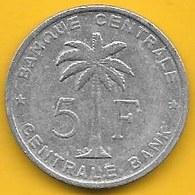 Ruanda-Urundi - 5 Francos 1958 (Km# 4) - Rwanda