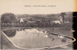 SARLAT- Ecole ST JOSEPH - La Piscine - Sarlat La Caneda