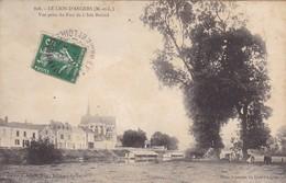 49 . LE LION D'ANGERS. CPA . VUE PRISE DU PARC DE L'ISLE BRIAND. ANNEE 1908 - France