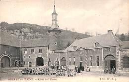 Abbaye De Flone - Cour De L'Ecole (top Animation, Edit W B) - Amay
