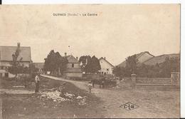 CPA - Durnes - Le Centre  - Animée - Baume Les Dames